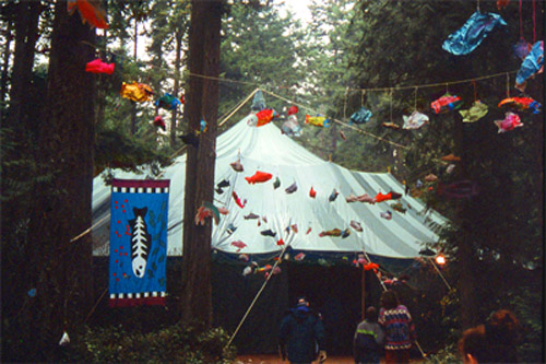 Wild Olympic Salmon Festival Tent